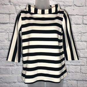 Anthropologie Postage Stamp Striped Top